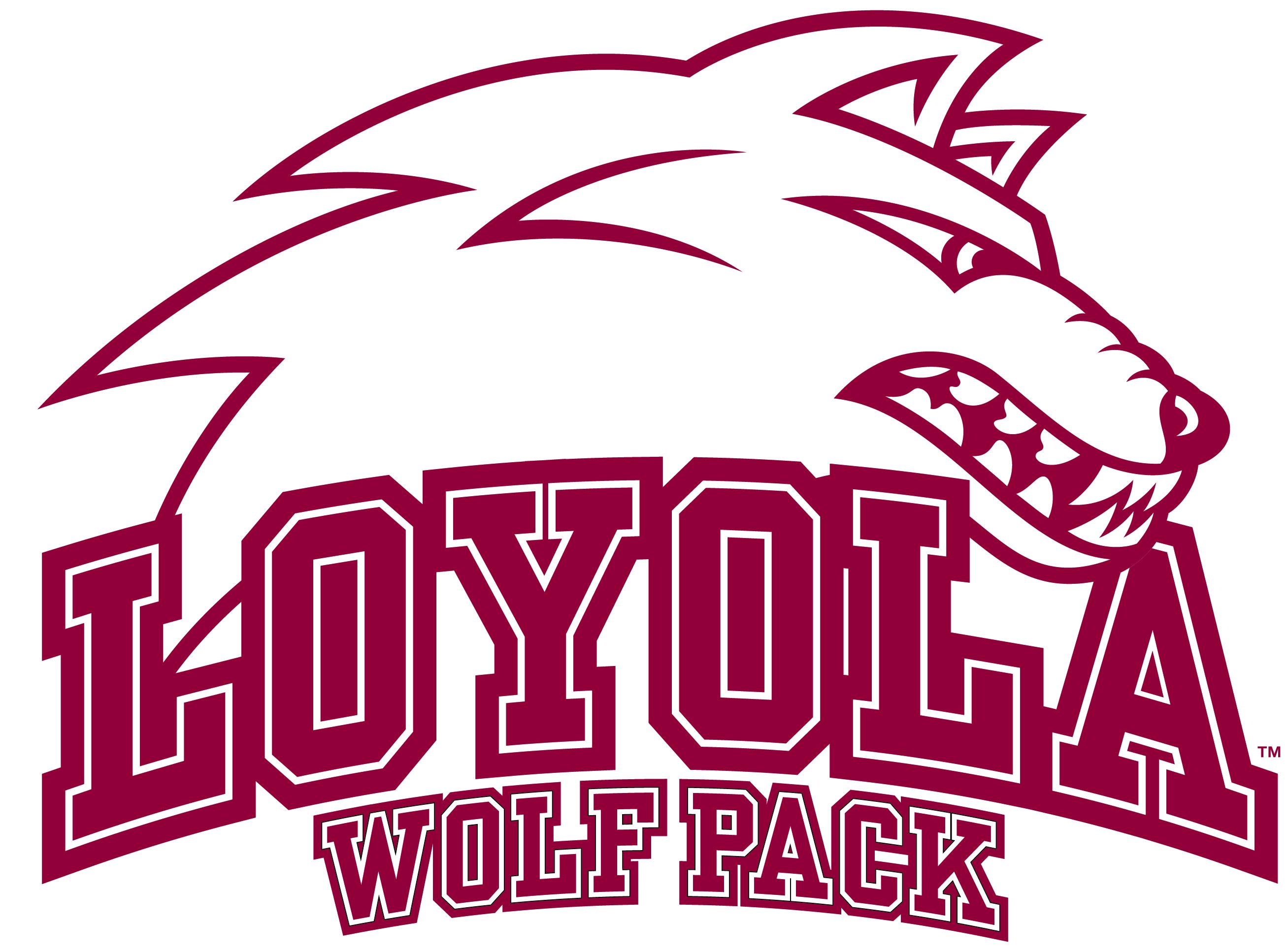 Loyola Wolf Pack logo